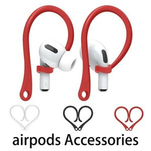 For Apple AirPods Pro Protective Silicone Protector Earhooks Anti-lost Ear Hook