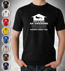 Awesome Bearded Dragon Lover T Shirt Gift Arrow