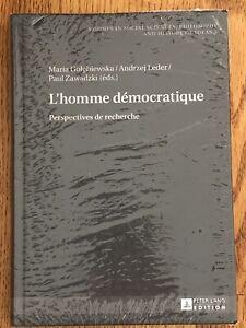L'Homme Democratique Perspectives De Recherche