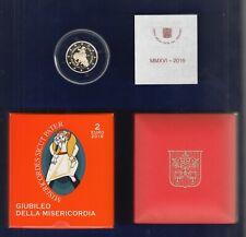 Vatikan 2 Euro Gedenkmünze 2016  Misericordia / Barmherzigkeit PP im orig. Etui