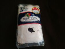 Vintage Men's Fruit of the Loom Briefs Xl Three Pack 1992 White Nos