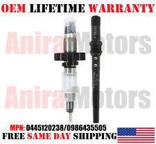 SINGLE OEM CUMMINS Injector With Connector Tube for 2004-09 Dodge Ram 2500 5.9L