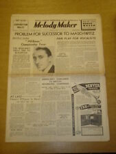 MELODY MAKER 1937 JUN 12 JOHN WATT SYDNEY LIPTON AMBROSE BIG BAND SWING