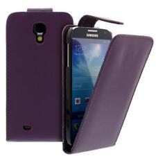 Para Samsung Galaxy S4/i9500 Móvil Funda con Tapa Funda Lila Bolsa