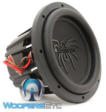 "SOUNDSTREAM T5.102 10"" TARANTULA 1800W MAX DUAL 2-OHM SUBWOOFER BASS SPEAKER NEW"