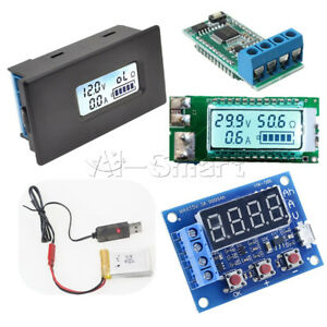 18650/26650 Lithium Battery Tester Capacity Current Voltage HW-586 LCD meter