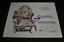 Love and Times of Scaramouche 22x28 Half 1/2 Sheet Movie Poster - (1976) ITB WH