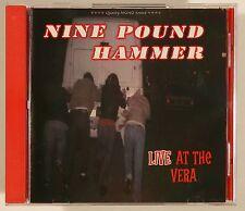 NINE POUND HAMMER Live At The Vera CD NEW SEALED PROMO NASHVILLE PUSSY