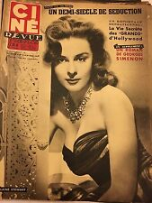 Ciné Revue 12 du 20 mars 1953 : Elaine Stewart - Daniel Gelin/Danièle Delorme
