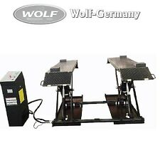 Scissor lift Lifting platform 3000KG Incl Mobil set Wolf Germany