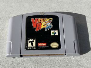 Vigilante 8 2nd Offense N64 Nintendo 64 Cartridge Only FREE SHIPPING WORKS!