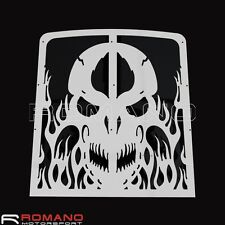 Motorcycle Skull Radiator Grille Cover Protector For Yamaha Banshee 1986-2007
