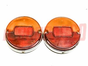 Lights Rear Fiat 850 Sedan Special Coupe until The 5/66 Original