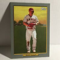 2020 Topps MLB Los Angeles Angels of Anaheim Mike Trout Turkey Red Baseball Card