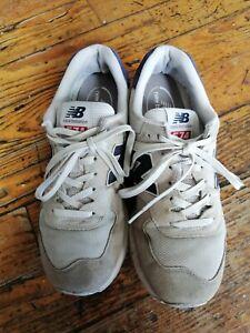 New Balance ML574UJD gray blue red men's running training  shoes 574