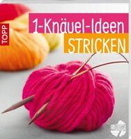 1-Knäuel-Ideen * Stricken * TOPP 6395 * Frech Verlag