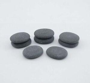HOT STONE MASSAGE: Set of 8 Basalt Toe Stones