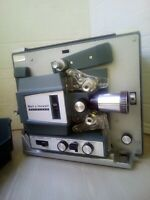 VINTAGE  BELL & HOWELL SUPER EIGHT # 482Z  AUTOLOAD 8MM MOVIE PROJECTOR NOS MINT