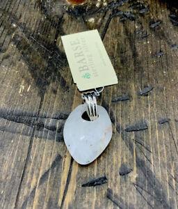 Barse Quartz Pendant- Sterling Silver- NWT