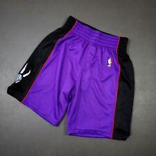 100% Authentic Mitchell Ness 99 00 Raptors Shorts Size L 44 Mens vince carter