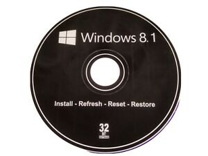 Windows 8.1 Pro 32bit DVD Drive operating system + activation code