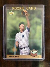 1993 Upper Deck Derek Jeter UD Rookie Card Top Prospect Yankees PRC #449