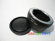 Adapter for Olympus OM Lens to Sony E NEX 3 NEX 5 NEX 7 NEX C3 f3 5C 5N 5R + CAP