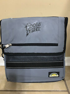 Coors Light Collapsible Insulated Cooler Bag 12x12x10 New
