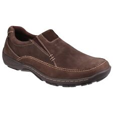 Cotswold Twyning Slip On Mens Semi Formal Lightweight Leather Casual Shoes