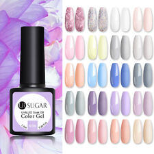 Ur Sugar Holographics Gel Nail Polish Solid Shimmer Nail Art Soak Off Gel Polish