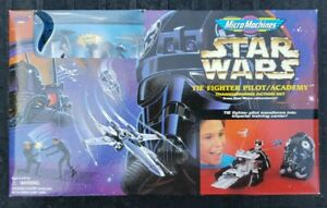 Micro Machines Star Wars Tie Fighter Pilot/Academy Transforming Action Set 1996