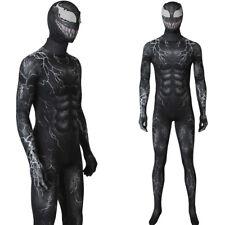 Venom Symbiote Jumpsuit Spider-Man Costume Superhero Suit Cosplay Adult Costume