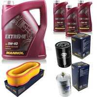 Ölwechsel Set 8L MANNOL Extreme 5W-40 Motoröl + SCT Filter KIT 10201426