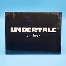 Undertale Art Book Guide Softcover (228 Color Pages) Official Artbook Toby Fox