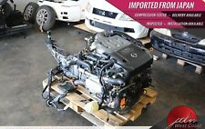 Jdm Nissan 350z Vq35 Vq35de Engine 03-04 V6 3.5L w/6spd Mt Ecu G35 **VIDEO!**