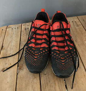 NIKE Free 5.0 Training Shoes Red/Black Size 11.5. 2013