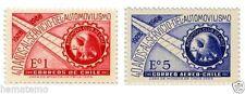 Chile 1968 #727-28 40 años Automobil Club de Chile MNH