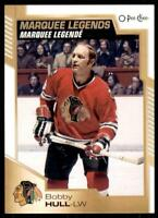 2020-21 UD O-Pee-Chee OPC Base Marquee Legends #540 Bobby Hull - Chicago Blackha