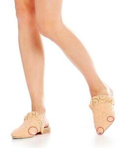 Free People Womens Eyelet Sienna Slip On Shoes Coral Orange Size EU 37