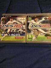 PES 12 + PES 13 PS 3 - PRO EVOLUTION SOCCER 2012 E 2013 - Completi Di Tutto