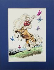 "Monika Livingstone 14"" x 11"" Centaurette Centaur Print 1989 1 of 15 Rare"