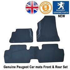 Peugeot 3008 Car Mat Mats Floor Carpet Luxury Design Genuine New 3 Pcs Set
