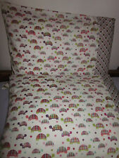 turtle pattern 100% new Cotton handmade Pillowcase one pair