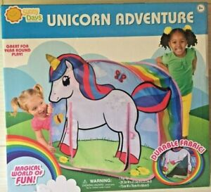 Sunny Days Pop-Up Unicorn Adventure Tent NEW 3+