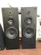 New listing Vintage Yamaha Ns-A650 Floor Stereo Speakers 3way 140w Home Theatre *See Video!*