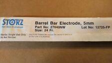 New Storz 27040NW  5mm 24Fr. Barrel BAR Coagulating Electrode