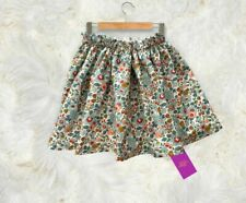 Liberty Rossmore Soft Cord Girl's Fully Lined Elasticated Waist Skirt Hand Made