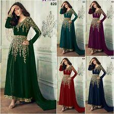 Bollywood Anarkali Suit Party Wear Salwar Kameez Indian Pakistani Shalwar KR