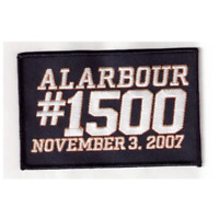 2007 Al Arbour Coach New York Islanders 1500th Game Jersey Patch