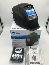 Miller Black Digital Elite Auto Darkening Welding Helmet 281000